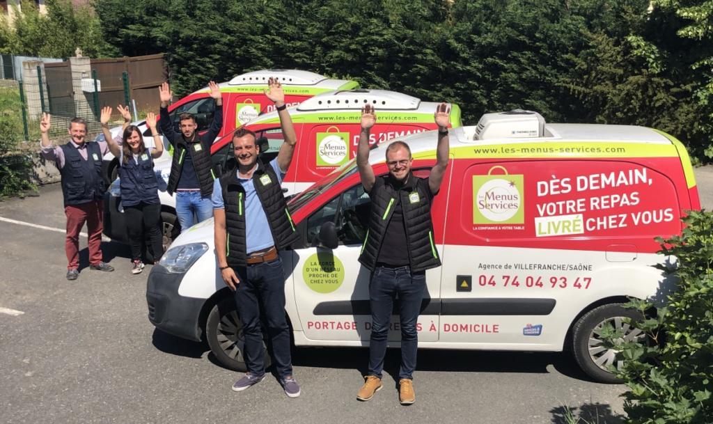 Equipe Les Menus Services portage de repas à Villefranche-sur-Saône