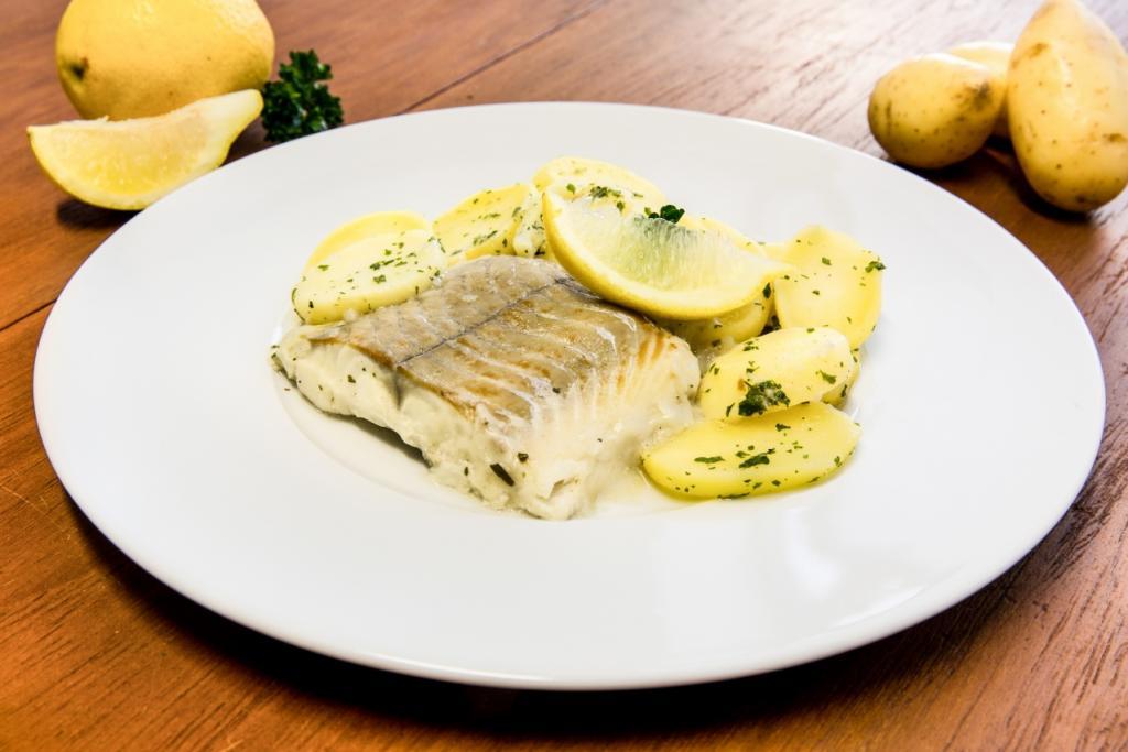 Menu diabétique - poisson féculents