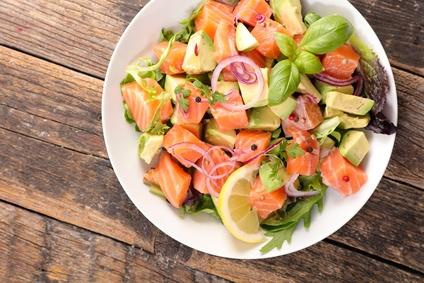 salades composées et vitamines