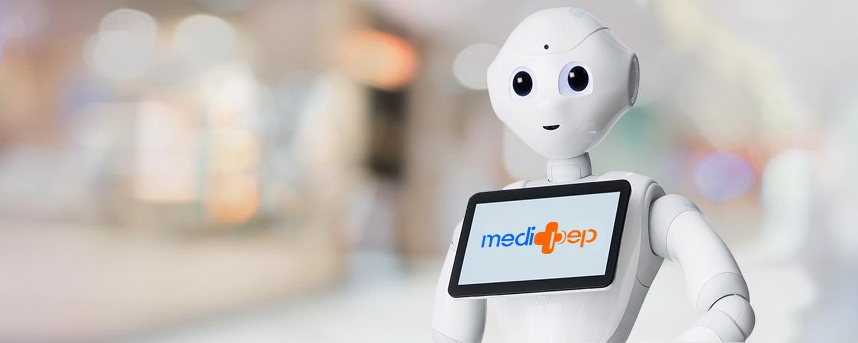 Medi'Pep un robot au service des seniors