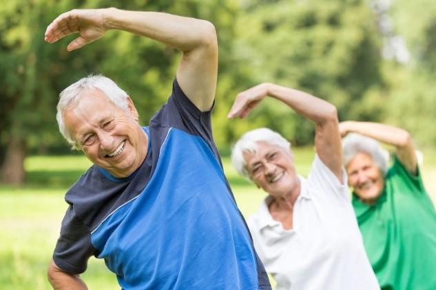 Activités physiques pour personnes âgées
