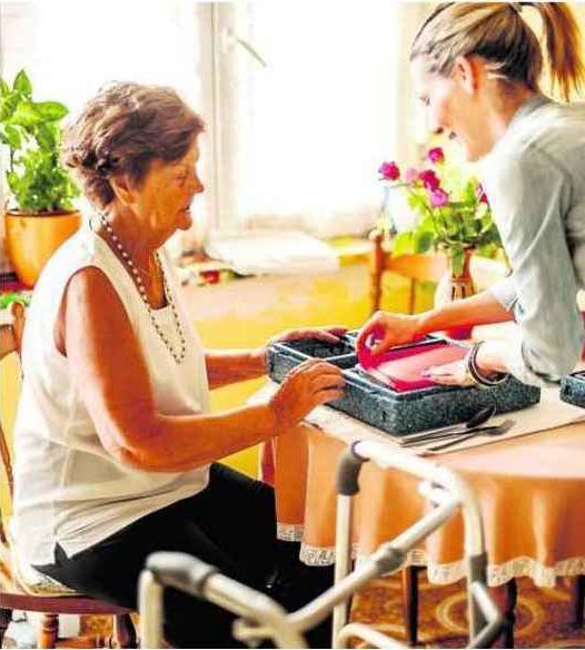 Portage de repas seniors à Agen